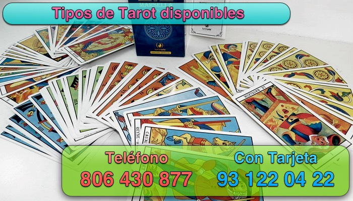 tipos de tarot disponibles