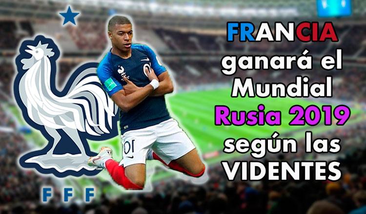 Francia ganará el mundial de Rusia 2018 segun los videntes
