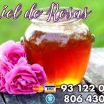 Miel de Rosas: ideal para el Amor