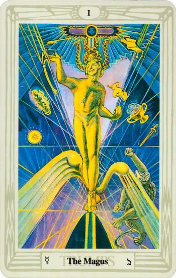 el mago - tarot del infinito