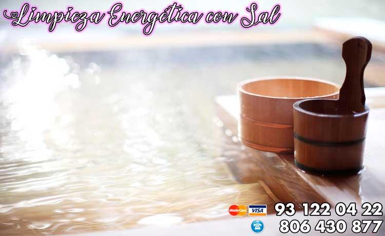 Limpieza energética con sal