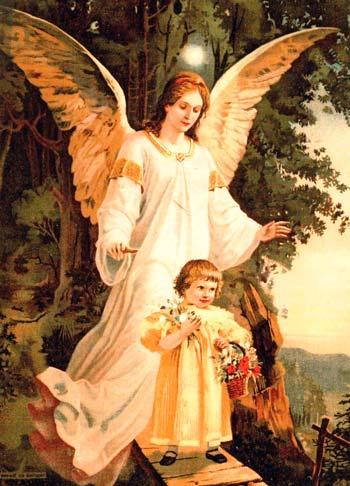 conecta con tu ángel de la guarda