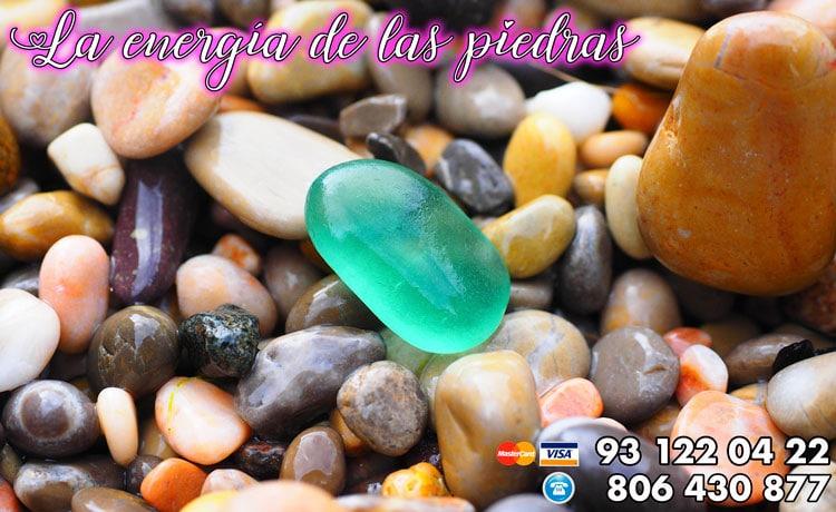 La energía de las piedras