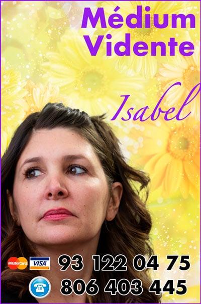 Isabel - tarotista experta en el tarot 806