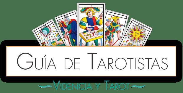 logo guia de tarotistas - tarot y videncia