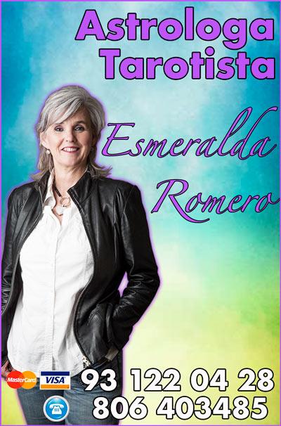 Esmeralda Romero - experta en Tarot y cartomancia